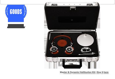 Master & Dynamic Halliburton Kit