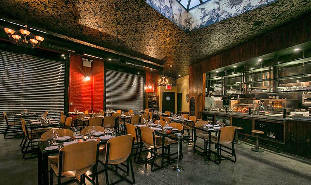 Breslin bar and dining room