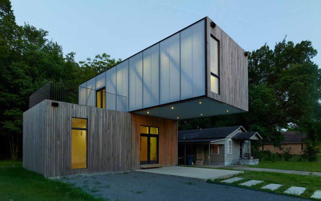Cantilevered house built by students insidehook for Build a house for 150k