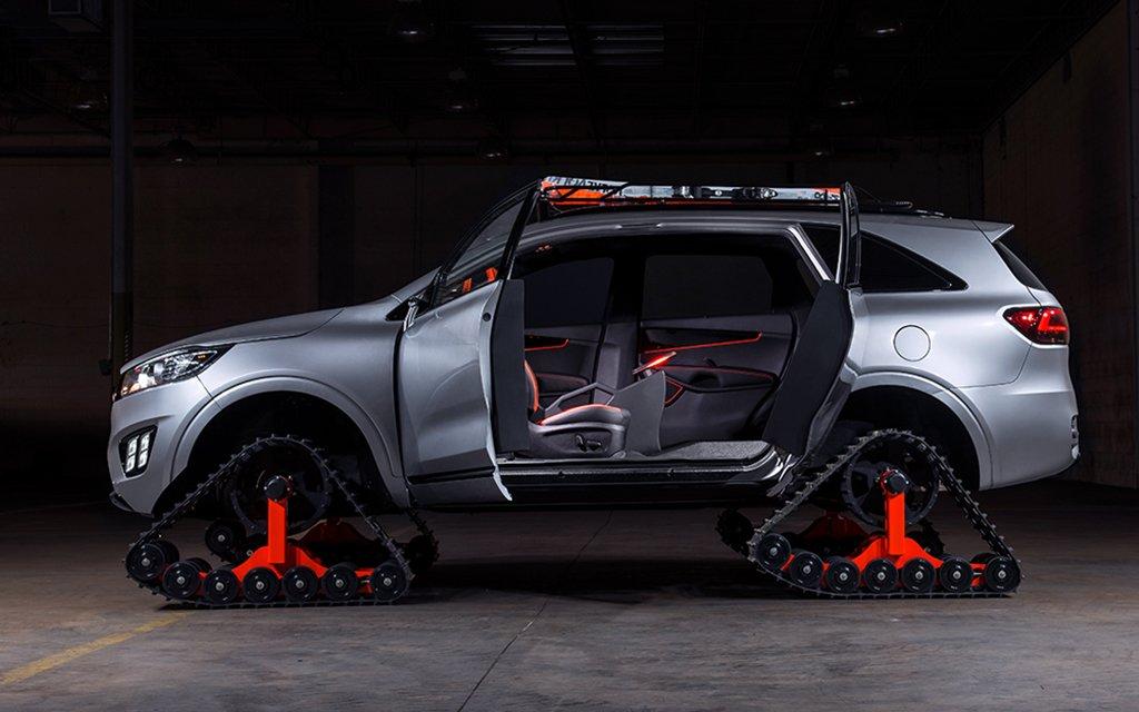 Kias Sorento Ski Gondola SUV and Other Concepts at SEMA  InsideHook