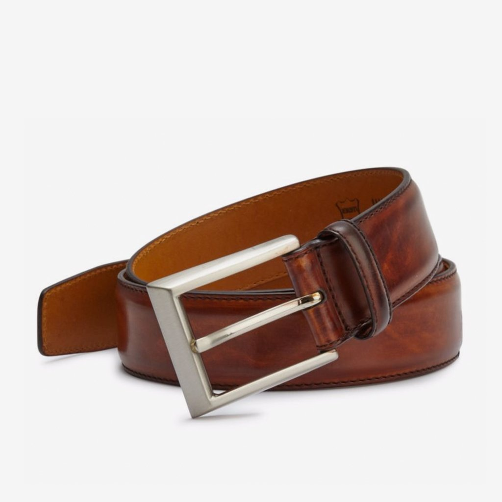 saks fifth avenue by magnanni leather belt saks fifth avenue ...