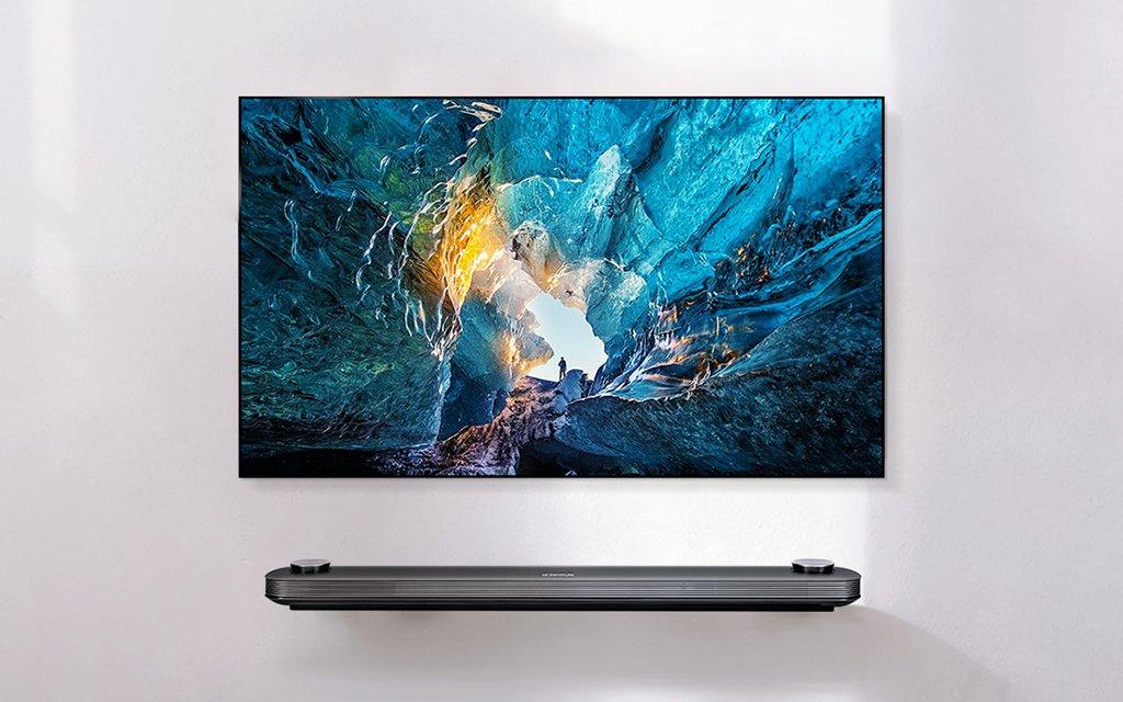 LG 77-Inch OLED Wallpaper | InsideHook