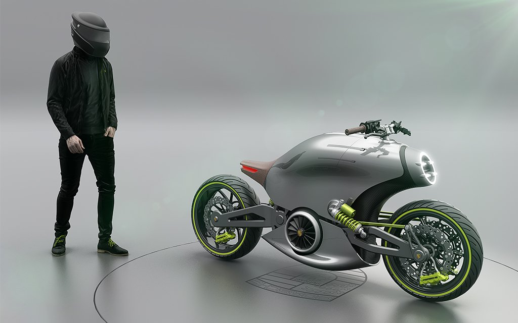 porsche e bike concept victory motorcycles motorcycle. Black Bedroom Furniture Sets. Home Design Ideas