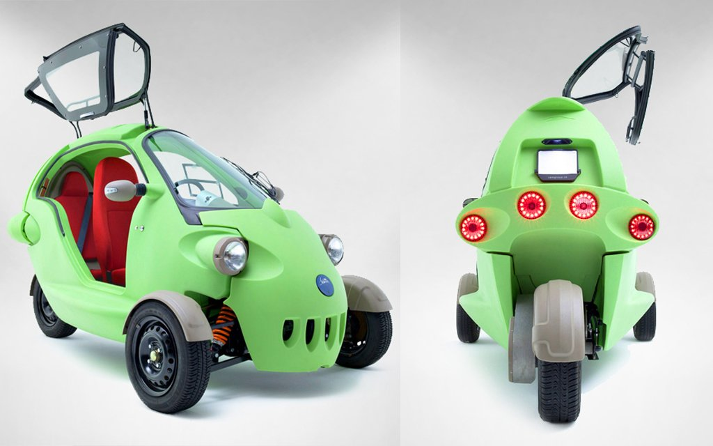 Sam Three Wheeled Electric Minicar Is Coming To The U S