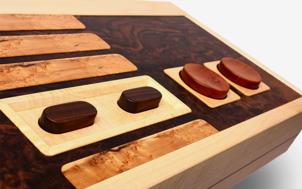 Controller Coffee Table Part - 29: U201cThe Unique Combination Of Wood And Technology Makes A Playful Statement  That Stands Alone As A Work Of Handcrafted Sculpture,u201d Lushear Says.