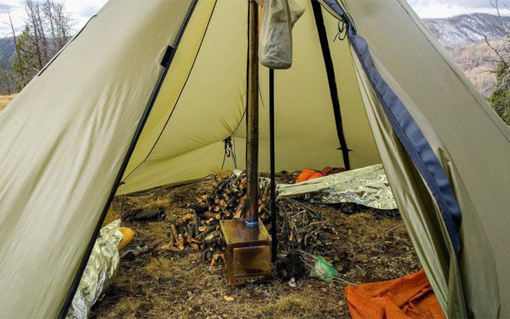 Seek outside hot tent insidehook for Heated gazebo