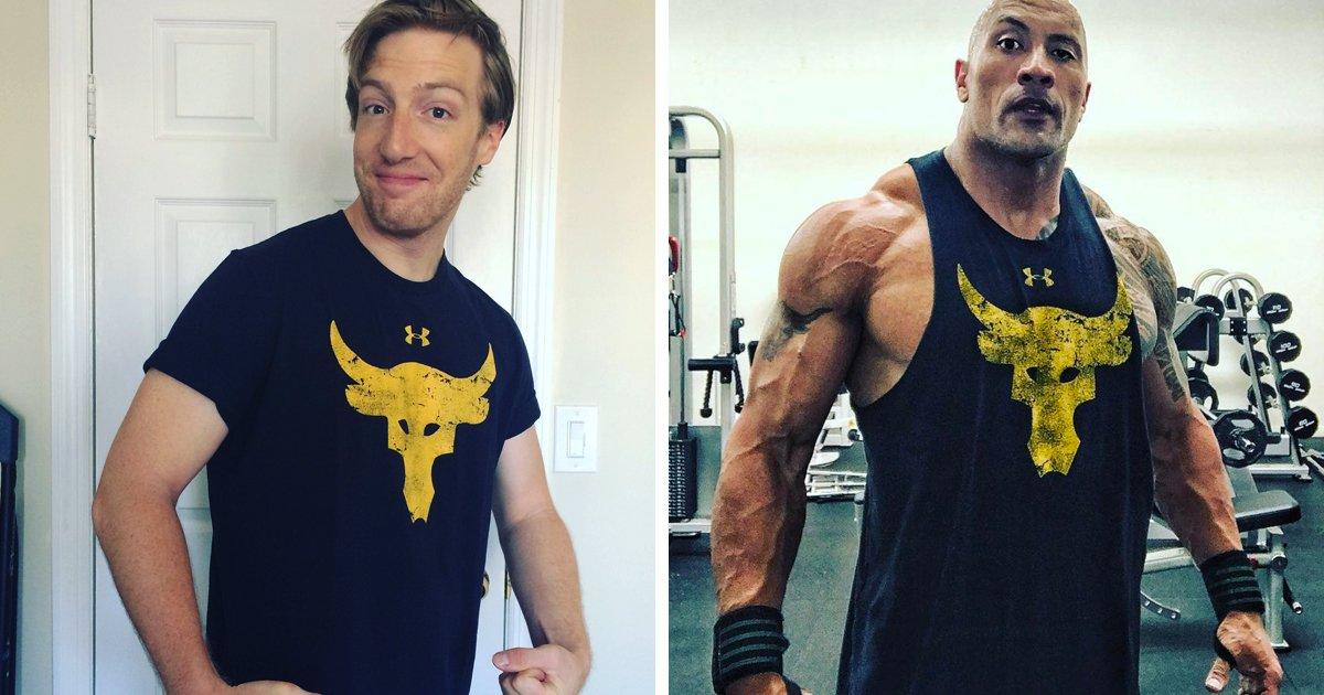 Dwayne the rock johnson workout 2013