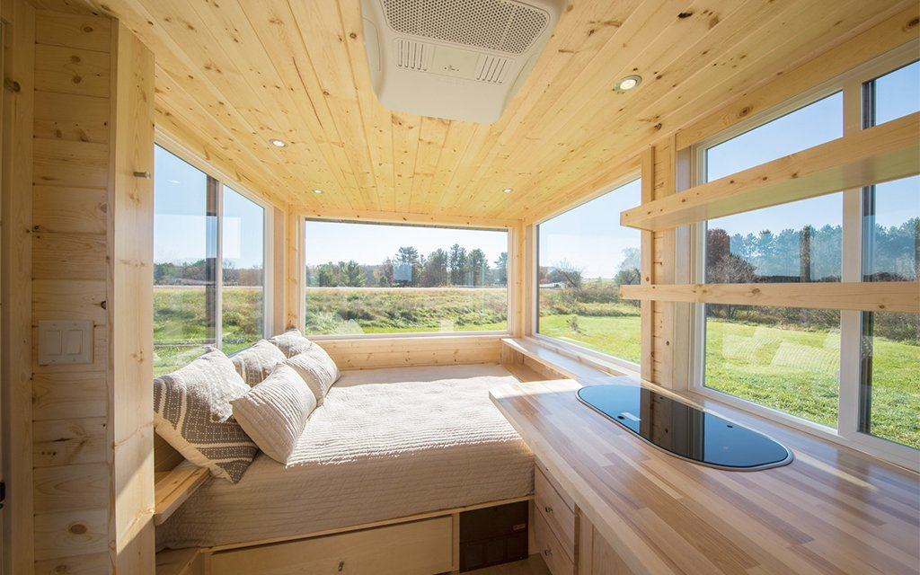 Escape Vista Sport Tiny Home Is Their Tiniest Trailer Yet