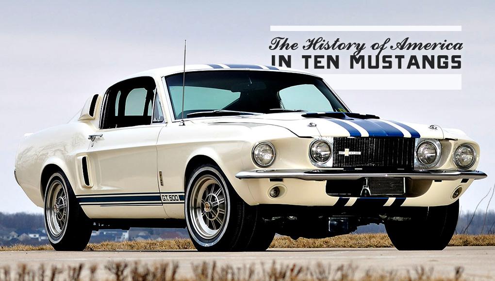 The History of America in Ten Mustangs