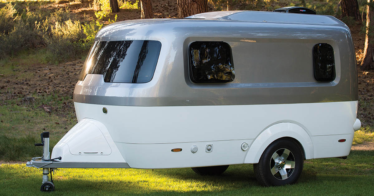 Airstream S Nest Caravans Trailers Are Small And Towable